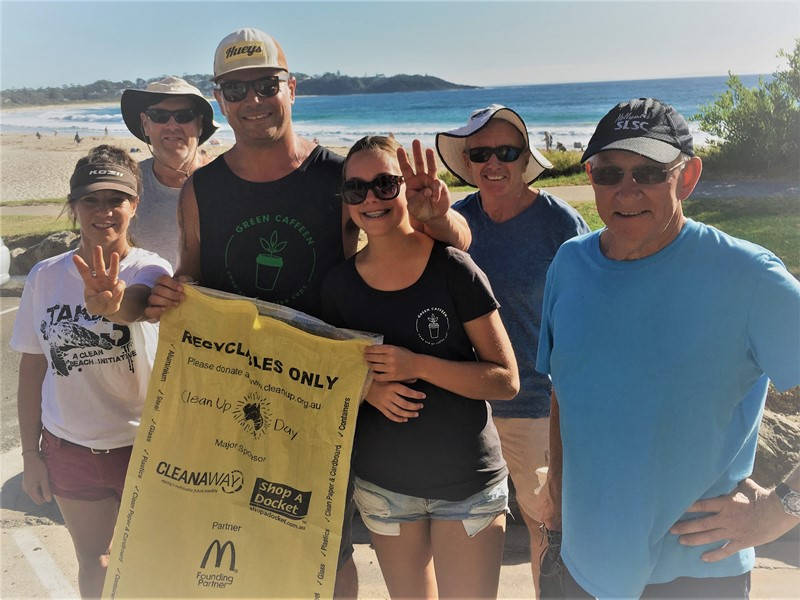 Mollymook ocean swimmers,Take 3 for the sea,Clean Up Australia Day,Mollymook Beach,Mollymook Beach Waterfront