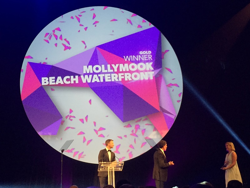 Mollymook Beach Waterfront,Mollymook accommodation,hosted accommodation,NSW Tourism Awards,2017